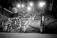 's nachts Parijs Stock Fotografie