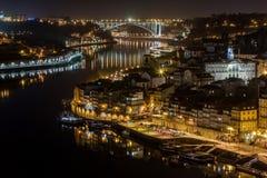 's nachts Porto stock foto