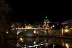 's nachts Rome Stock Afbeeldingen