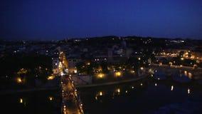 's nachts Rome stock video