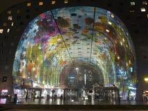 's nachts Rotterdam Royalty-vrije Stock Afbeelding