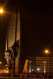 's nachts stad Royalty-vrije Stock Foto's