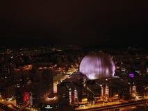 's nachts Stockholm royalty-vrije stock afbeelding