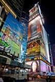 's nachts Times Square stock fotografie