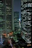 's nachts Tokyo royalty-vrije stock foto's
