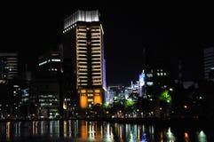 's nachts Tokyo Royalty-vrije Stock Afbeelding