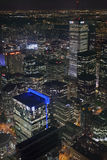 's nachts Toronto van de binnenstad Royalty-vrije Stock Foto's