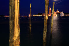 's nachts Venetië royalty-vrije stock fotografie