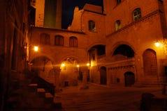 's nachts Viterbo Stock Afbeelding