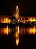 's nachts Zutphen Royalty-vrije Stock Afbeeldingen