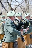 ` S New York City St Patrick Tagesparade Stockbild