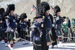 ` S New York City St Patrick Tagesparade Stockbilder
