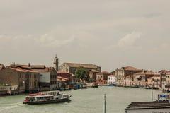 Beautiful scenery streets of Burano, Italy Royalty Free Stock Photo