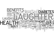 It S No Joke Laughter Is Awesome Medicine Word Cloud Concept royalty free illustration
