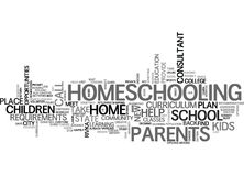It S Not Back To School For Everyone Word Cloud Concept. It S Not Back To School For Everyone Text Background Word Cloud Concept Royalty Free Stock Image