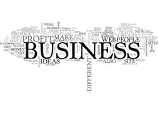 It S Not That Difficult To Increase Your Business Profits Word Cloud Concept stock illustration