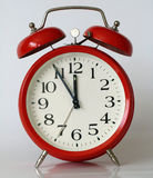 It's not too late. Alarm clock in my home Stock Image