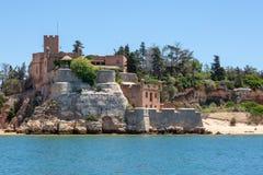 Free São João De Arade Fortress Between The Beaches Of Praia Angrinha And Grande. Stock Image - 125610161
