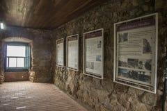 São José da Ponta Grossa Fortress - Florianópolis/SC - Brazil Stock Images