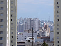 São Paulo Skyline Images stock