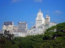 São Paulo skyline Royalty Free Stock Photo