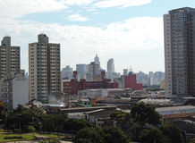 São Paulo Skyline Royalty Free Stock Images
