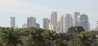 São Paulo skyline Stock Photos