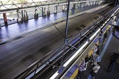 São Paulo Subway (Metrô) - Sumaré Station Stock Photo