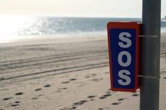 S.O.S. Royalty-vrije Stock Fotografie