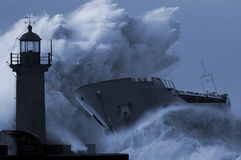 S.O.S. SOS.Save Our Ship concept for danger broadcasted signal stock photo