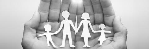 S'occuper de votre famille photo libre de droits