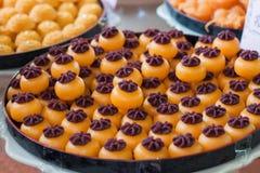 Słodcy desery, tradyci Tajlandia deser Zdjęcie Royalty Free