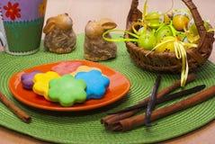 Słodcy kolorowi ciastka Zdjęcie Royalty Free