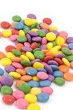 słodcy kolorowi smarties Zdjęcie Stock