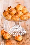 Słodcy kremowi chuchy Obraz Royalty Free