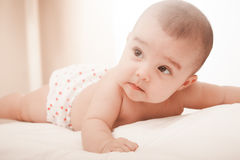 słodka dziewczynka kochanie Zdjęcie Stock