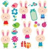 Słodka Easter klamerki sztuka Obraz Royalty Free