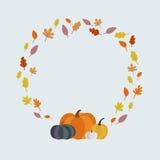 Słodka jesieni rama Zdjęcia Royalty Free