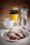 Słodka kawowa przerwa Zdjęcia Royalty Free