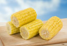 słodka kukurydza Obraz Royalty Free