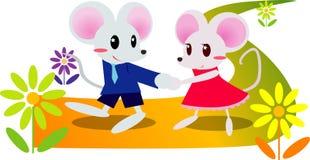 słodka mysz ilustracji