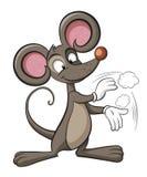 słodka mysz Szczura aplauz Fotografia Royalty Free