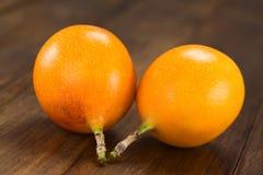 Słodka passiflora lub Grenadia Zdjęcia Royalty Free