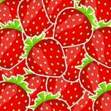 Słodka smakowita truskawki wektoru ilustracja Obrazy Royalty Free