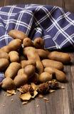 Słodka tamarynda na drewnianym tle Obrazy Royalty Free