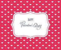 Słodka valentine karta ilustracji