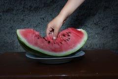 Słodki arbuz Zdjęcie Stock