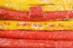 Słodki baklava deserowy i inni cukierki wschodni Zdjęcia Royalty Free