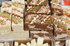 Słodki baklava deserowy i inni cukierki wschodni Zdjęcie Stock