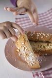 Słodki ciasto Obrazy Stock